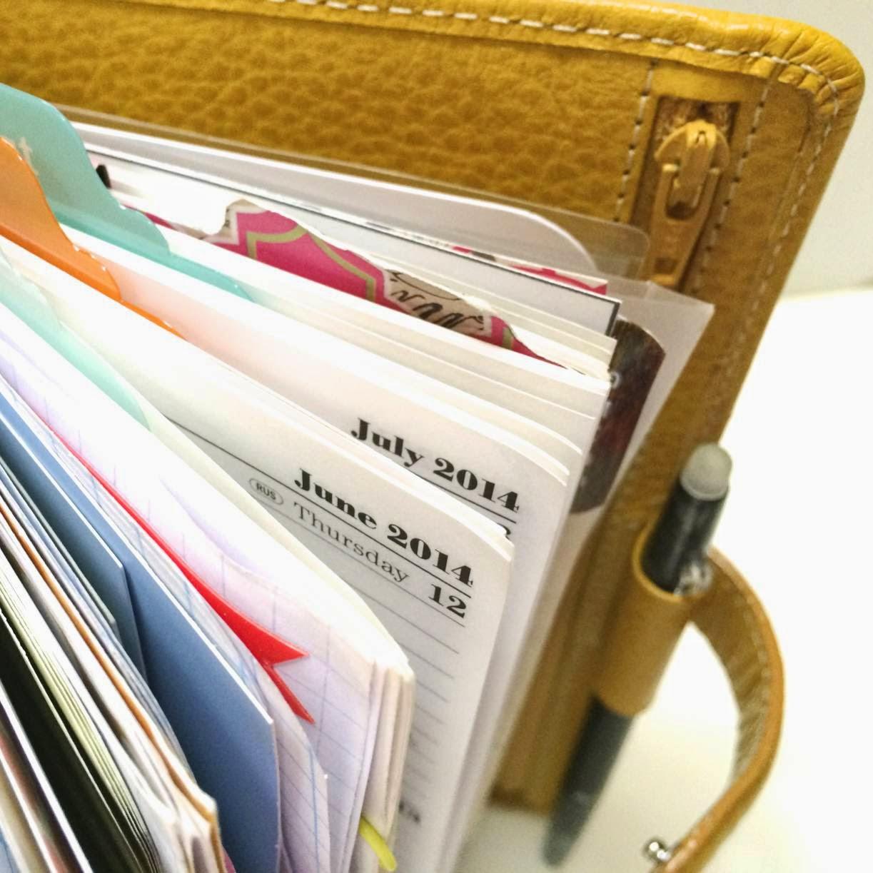 Organizing in your Filofax Planner | iloveitallwithmonikawright.com