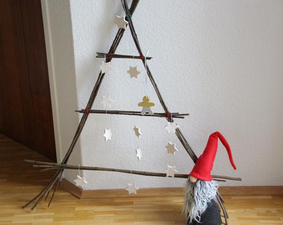 binedoro mein pflegeleichter weihnachtsbaum diy. Black Bedroom Furniture Sets. Home Design Ideas