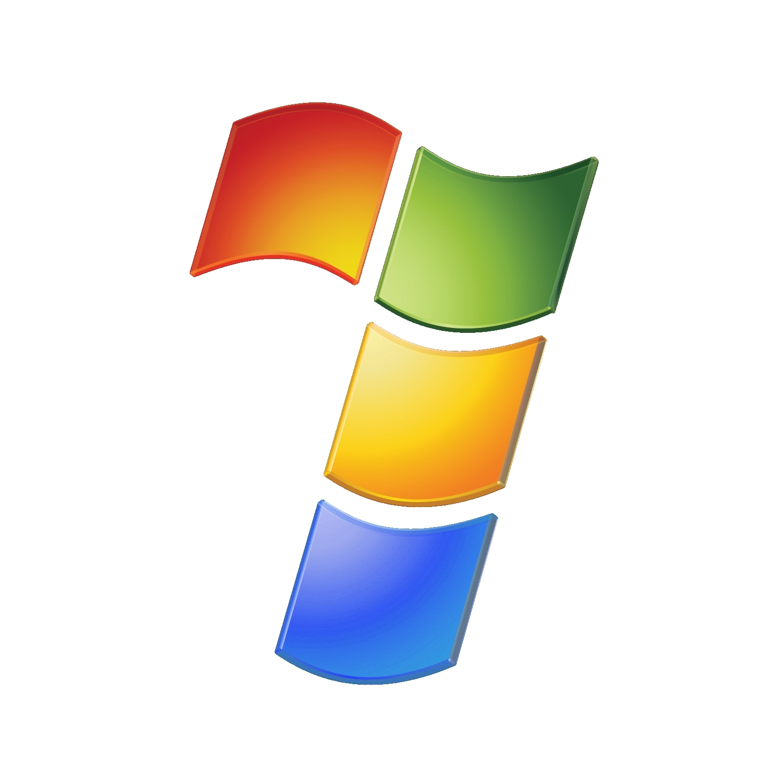 official logo windows 7 windows 7 adalah rilis terkini microsoft    Official Windows 7 Logo