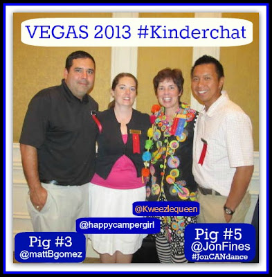 #Kinderchat Participants in VEGAS via RainbowsWithinReach