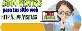 Cómo se Consiguen 5000 Visitas Gratis a un Sitio Web