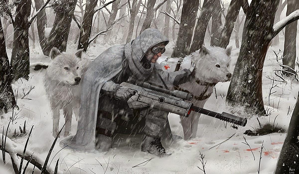 Kisah Serigala Dan Seorang Pemburu