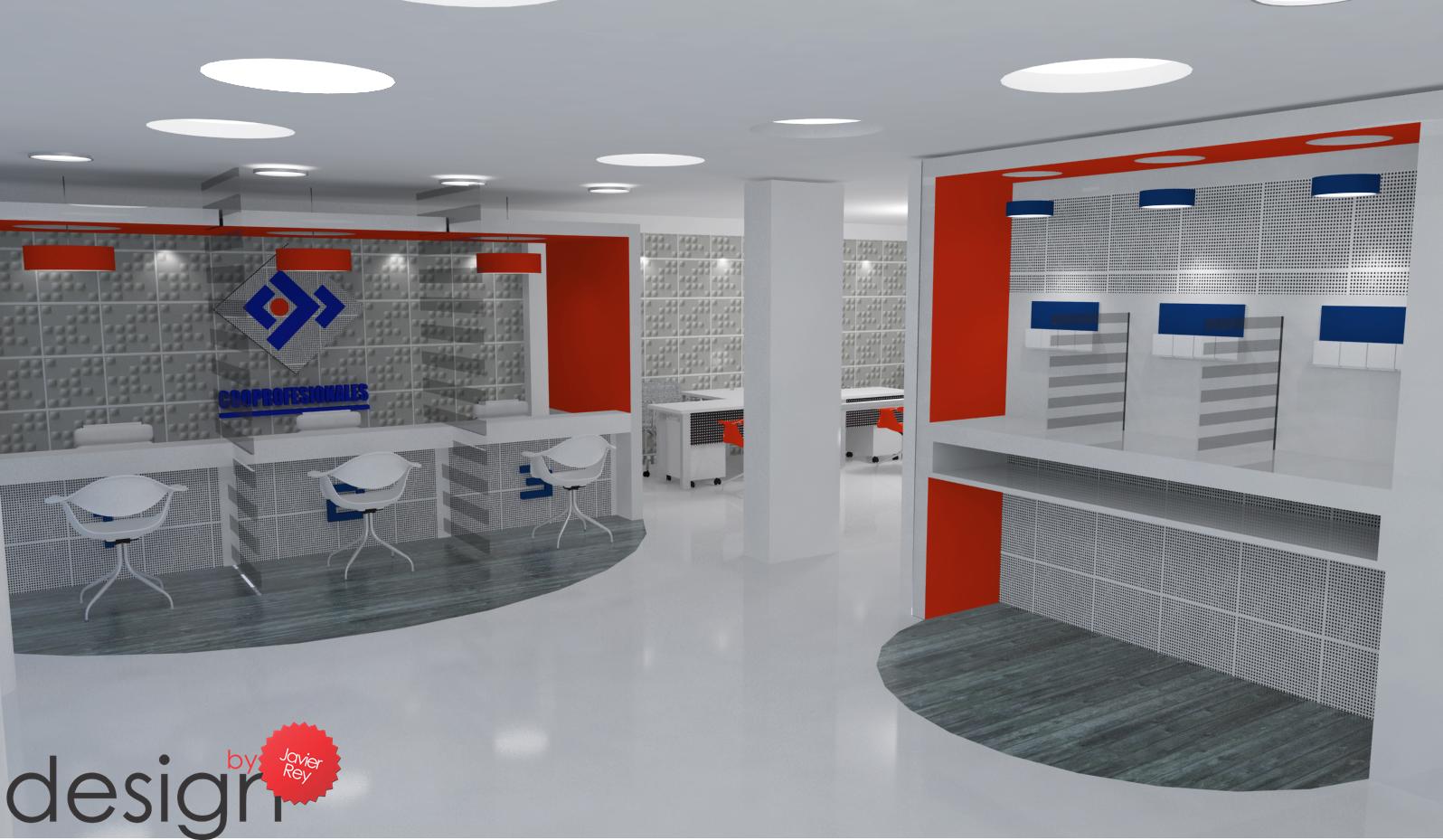 Dise os de oficinas dise o interiorismo construccion for Oficinas y cajeros