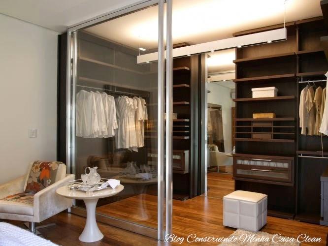 Blindex No Quarto ~ Construindo Minha Casa Clean Closet Com ou Sem Porta? Modelos Lindos, Pequenos e Famosos!