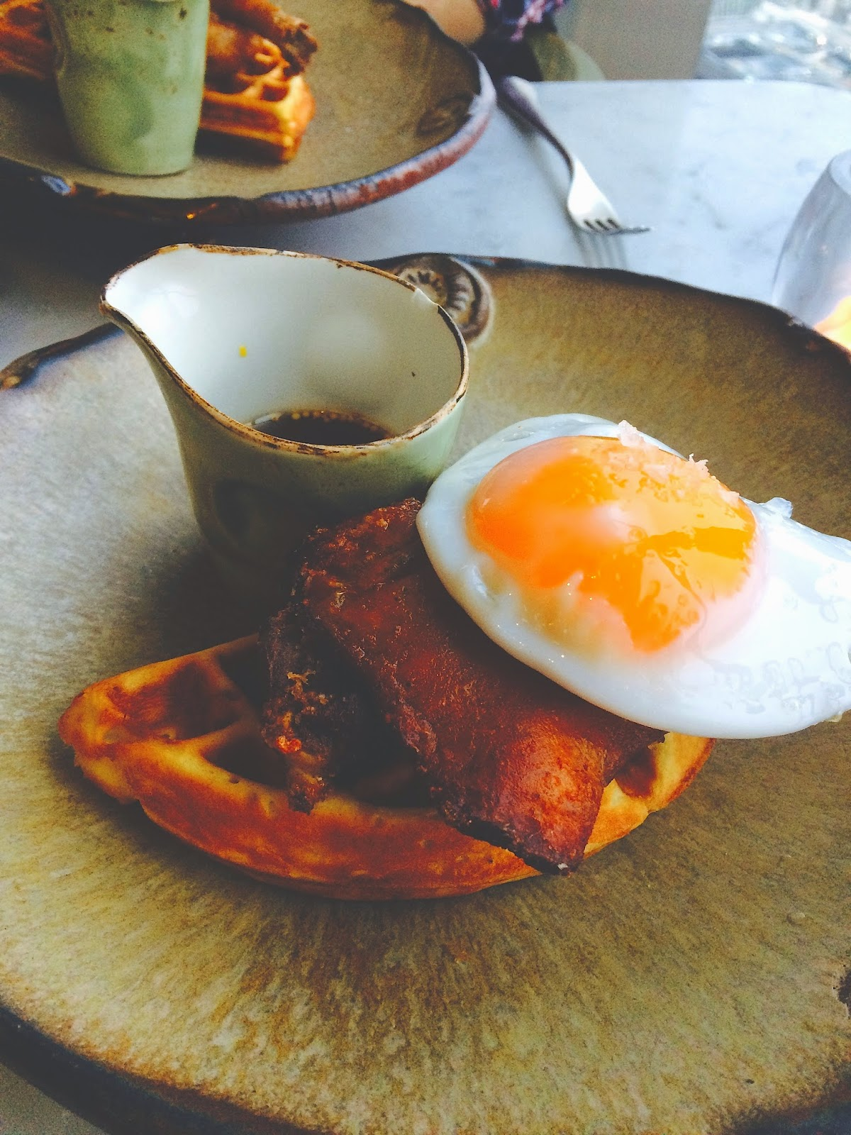 Duck and Waffle London Restaurant Review The Betty Stamp