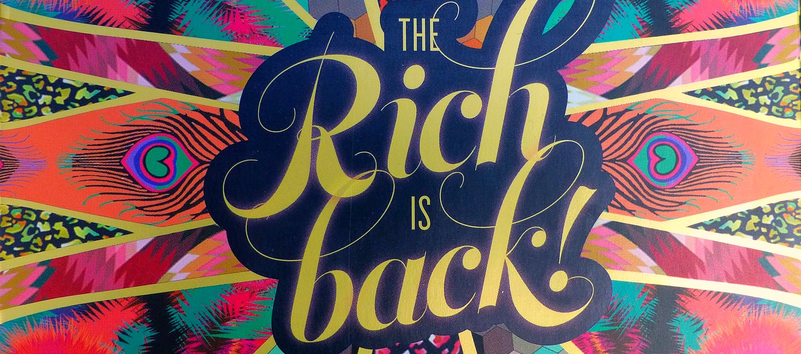 The Rich is Back - La palette par Benefit et Matthew Williamson