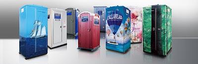 Portable toilets TRIBECA