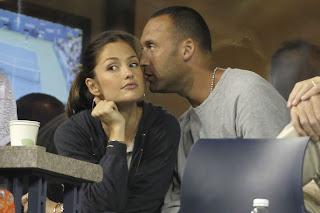 Derek Jeter With Wife Minka Kelly