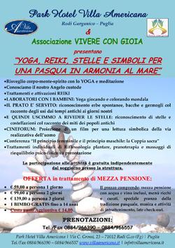 Programma Benessere - Pasqua 2013 sul Gargano - Park Hotel Villa Americana