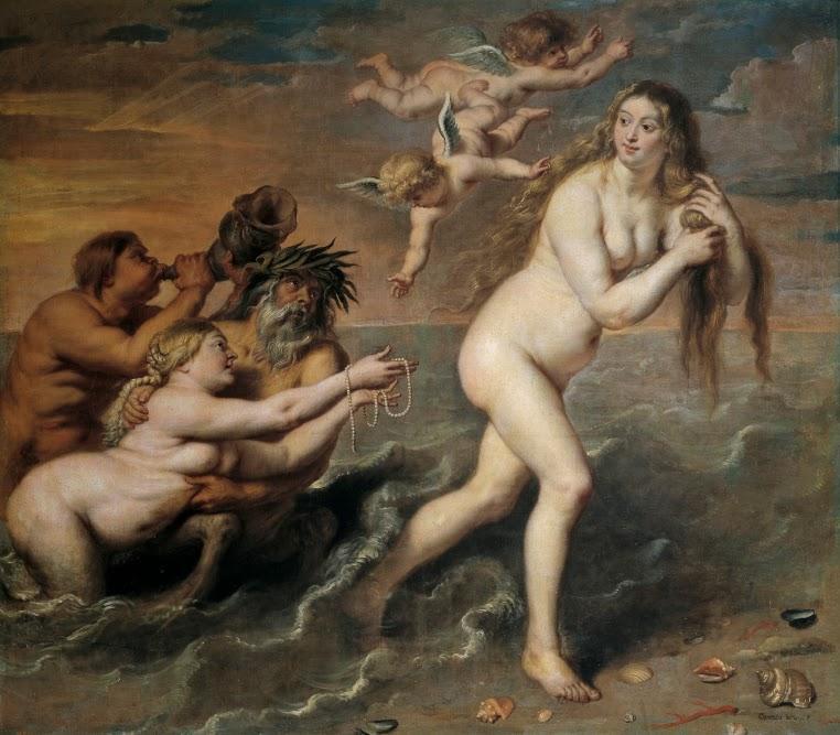 Cornelis de Vos, Nacimiento de Venus (ca. 1636)