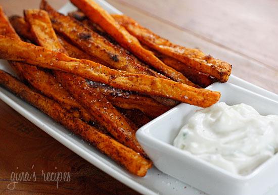 Baked Chipotle Sweet Potato Fries | Skinnytaste