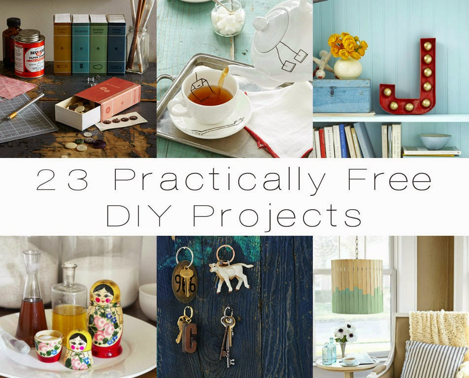 23 Practically Free DIY Projects