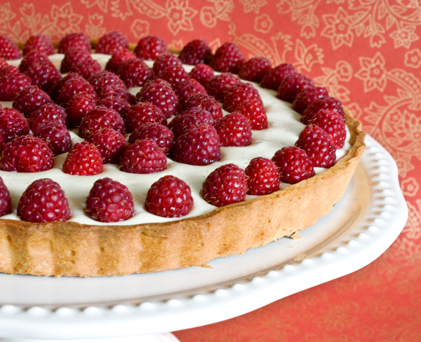 Tarts On Demand: White Chocolate Raspberry Tart