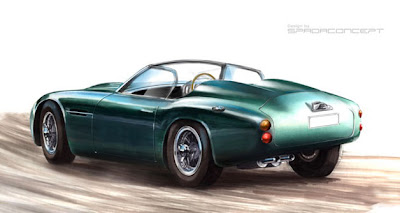 Icon recreating DB4 GT Zagato as convertible with modern mechanicals