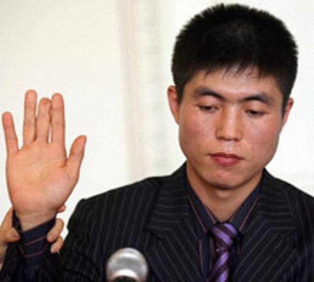 Shin Dong-hyuk teve o dedo cortado pelos carcereiros como punição