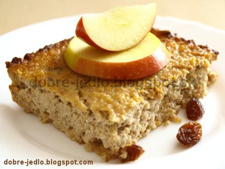 Pšenový nákyp s jablkami - recepty