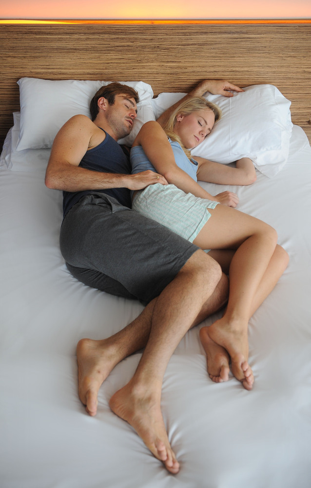 Dating and sleeping with two guys