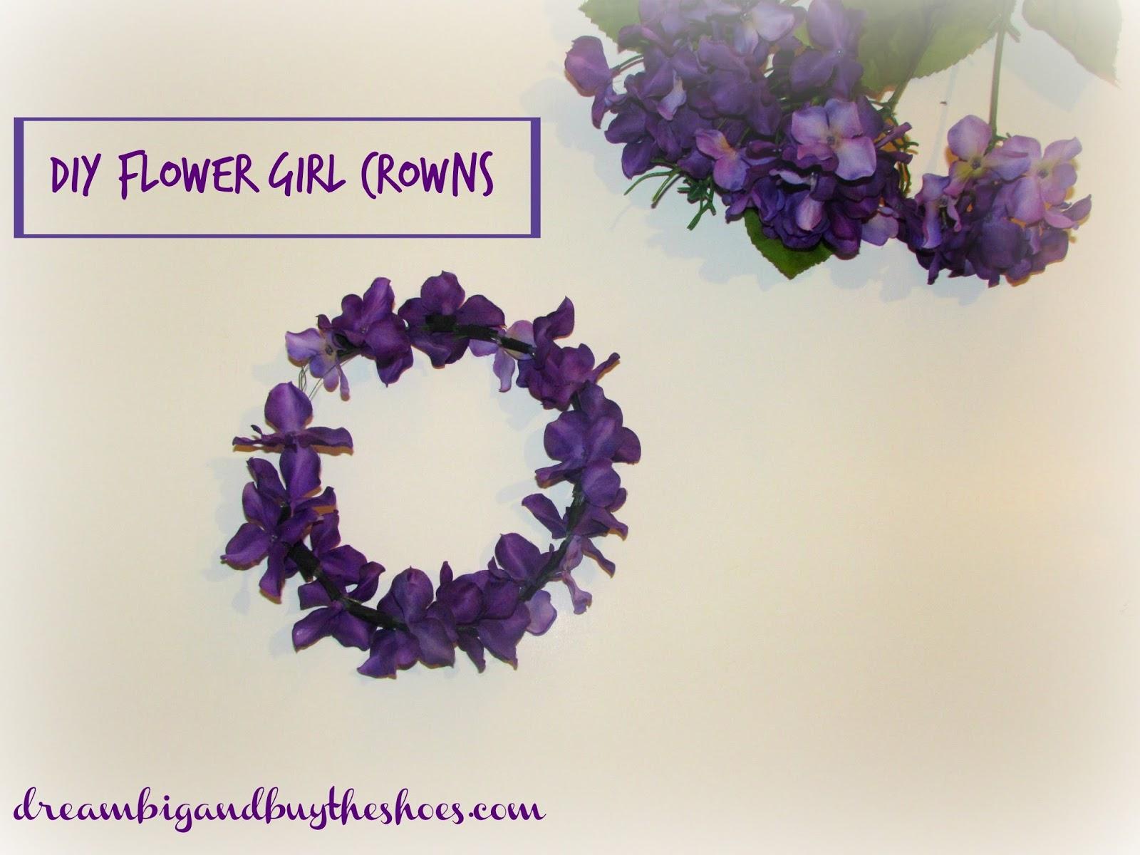 Dream Big Buy The Shoes Diy Flower Crowns
