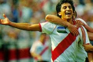 Ramón Díaz, jugador, River, River Plate, Carta Credencial,
