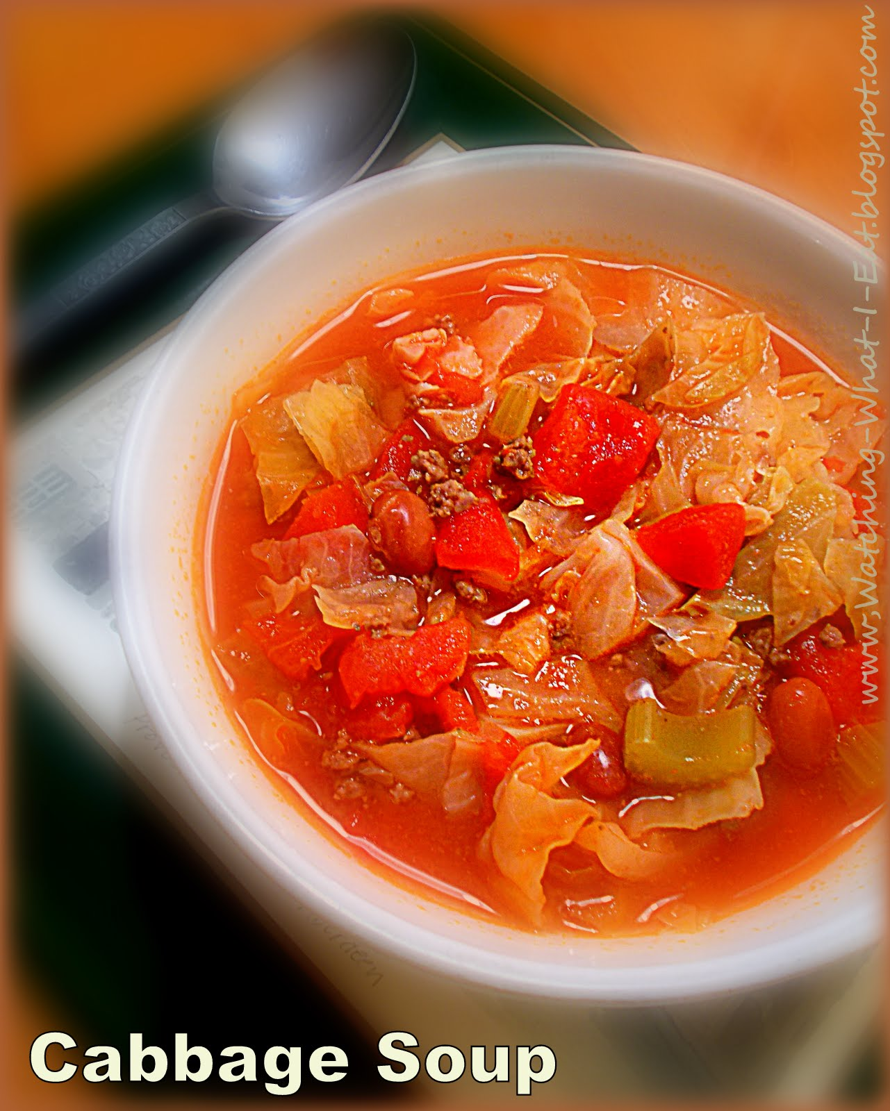 Watching what i eat cabbage soup grandma bunni 39 s family for Easy tasty soup recipes