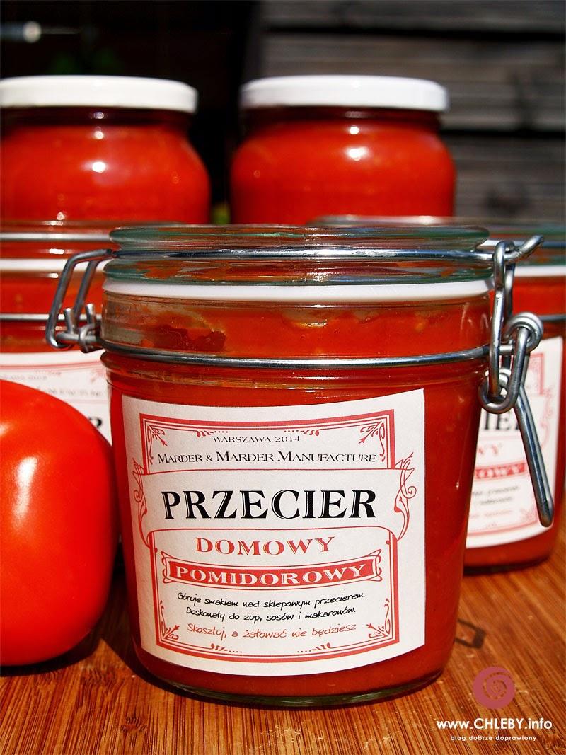 Domowy przecier pomidorowy (i Wielka Księga Własnych Wyrobów)