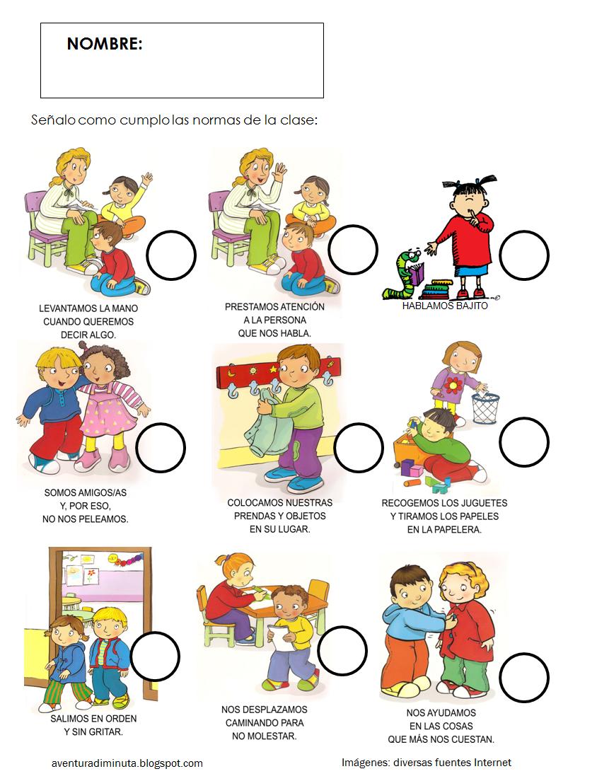 Aprendemos con todos y de todos educaci n en valores las for Actividades para el salon de clases de primaria