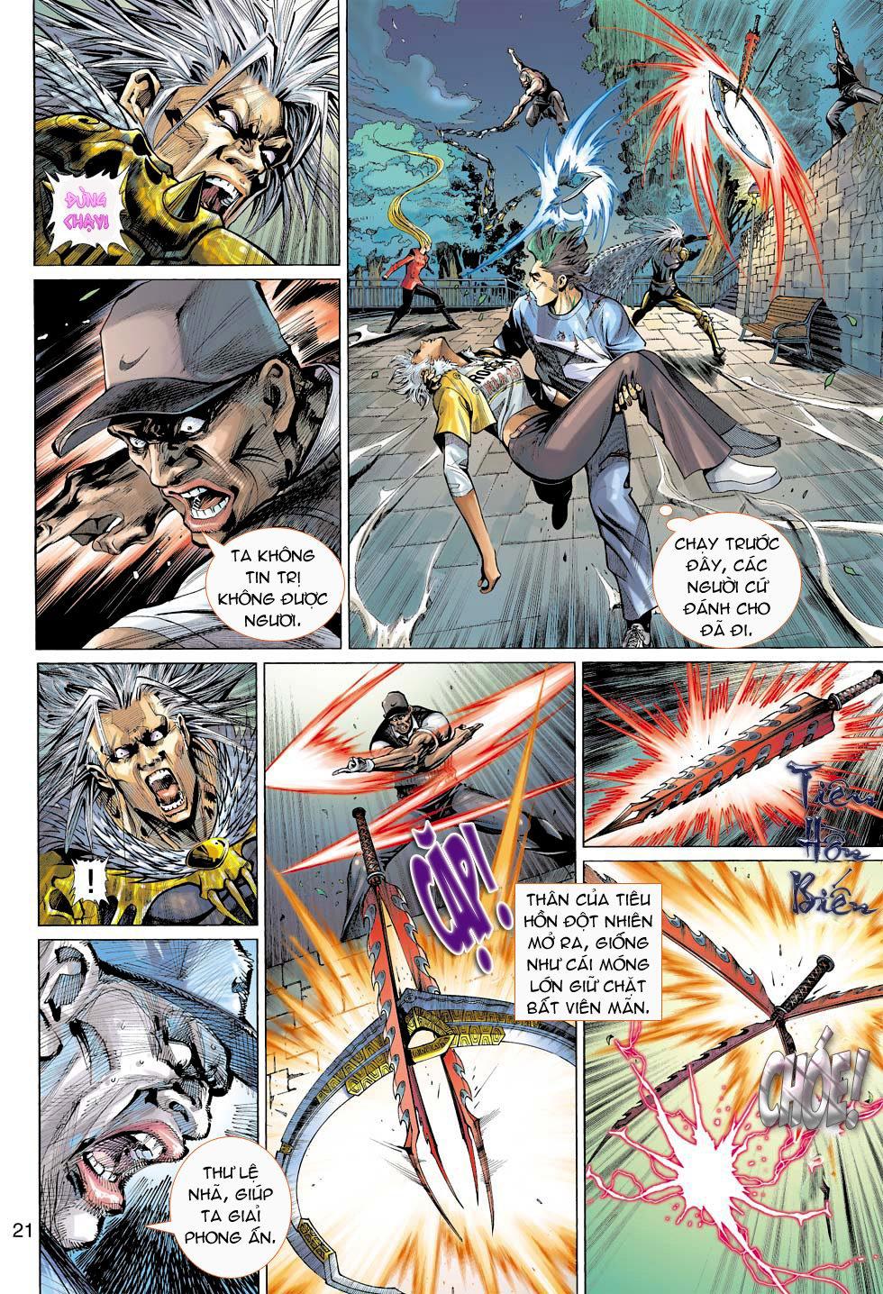 Thần Binh 4 chap 16 - Trang 21
