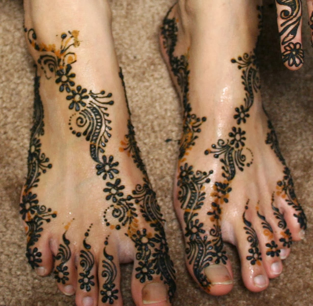 Mehndi Designs For S : Beautiful latest simple arabic pakistani indian bridal