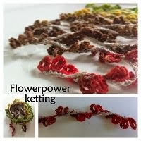 Flowerpower-ketting - haakpatroon