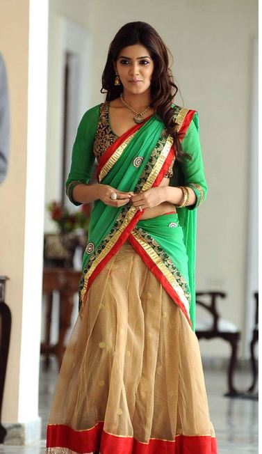 Samantha+hot+photos+in+saree