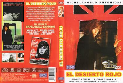 Cover, carátula, dvd: El desierto rojo | 1964 | Il deserto rosso