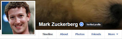 Verified Pages in Facebook-Mark Zukerberg