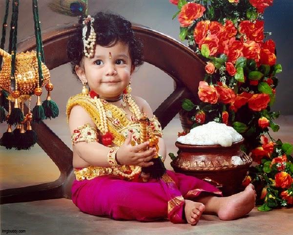 Photo bébé indien