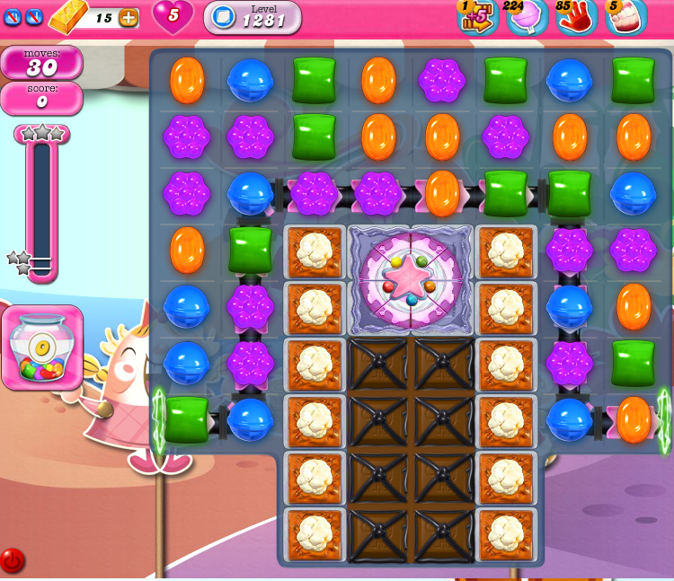 Candy Crush Saga 1281