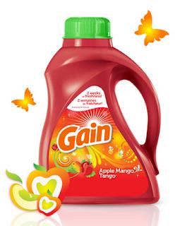 Détergent lessive Gain Apple Mango Tango