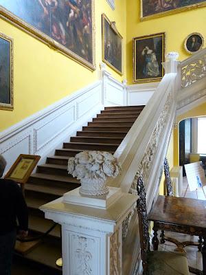 Staircase, Sudbury Hall - inside Pemberley © regencyhistory.net
