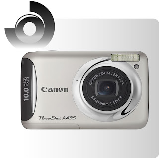 onde comprar Canon Powershot A495