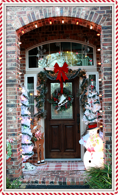 Vintage Themed-Christmas Front Porch-From My Front Porch To Yours