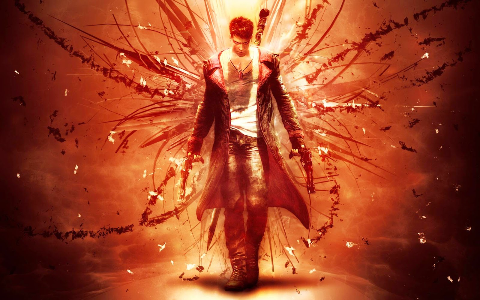 -Devil May Cry وهي لعبة استراتيجية جميلة جدا ولها العديد من الاجزاء ولعبة مشوقة ايضا