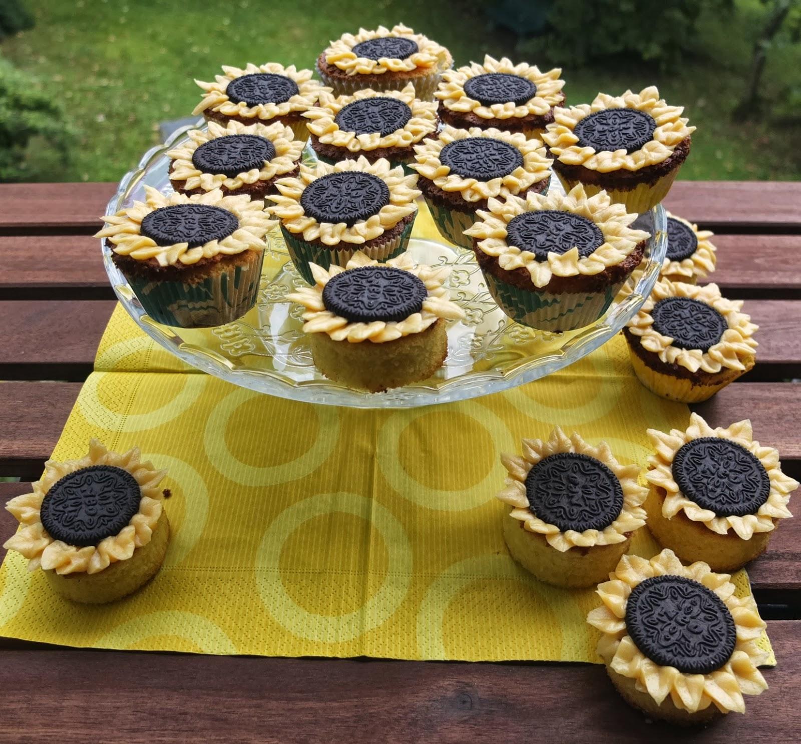 p tisserie nadine sonnenblumen muffins aus zitronen oliven l kuchen. Black Bedroom Furniture Sets. Home Design Ideas