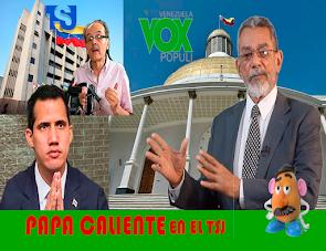 Papa Caliente en el TSJ - Venezuela Vox Populi - Manuel Isidro Molina