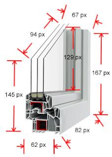 Euromnd infissi pvc milano preventivo gratuito serramenti pvc - Dimensioni standard finestre ...