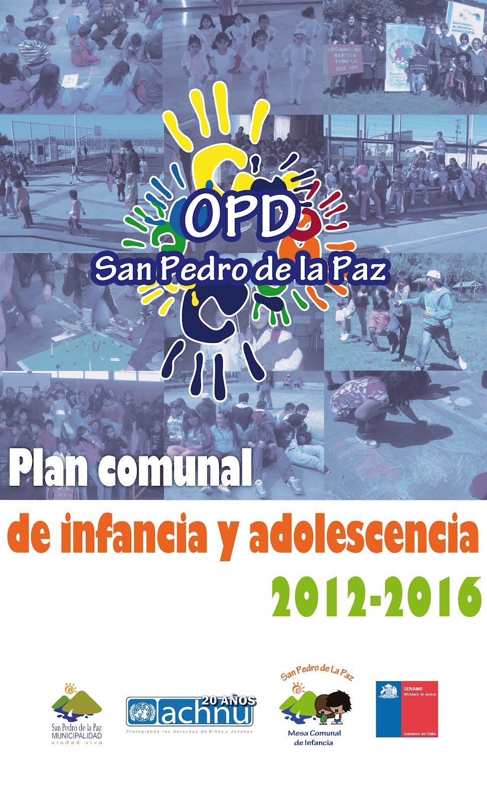 Plan Comunal de Infancia y Adolescencia 2012-2016