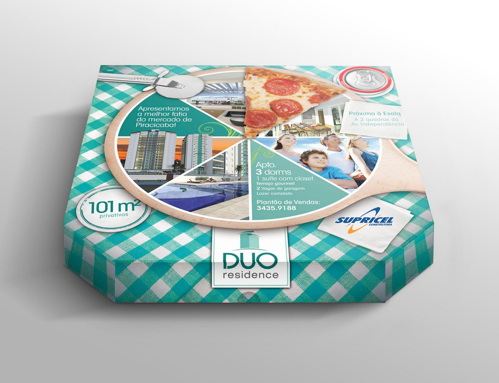 90 embalagens de pizzas criativas