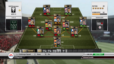 TOTW 31 Players - FIFA 12 Ultimate Team - Team of the Week