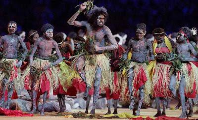 foto: aborigenes oceania