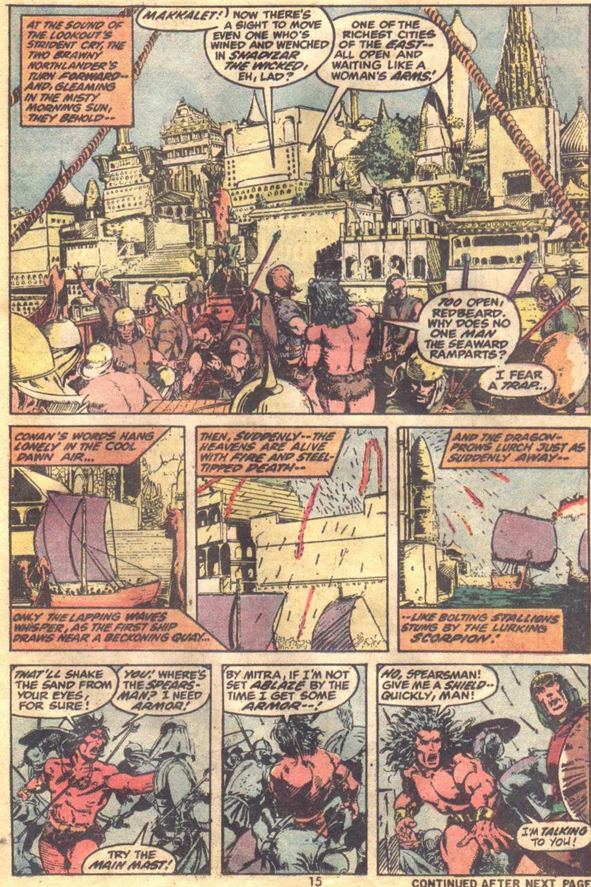 Conan the Barbarian (1970) Issue #19 #31 - English 12
