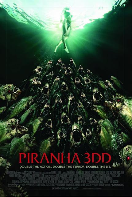 Piraña 3D 2 (Piranha 3DD) (2012) DvdRip Latino