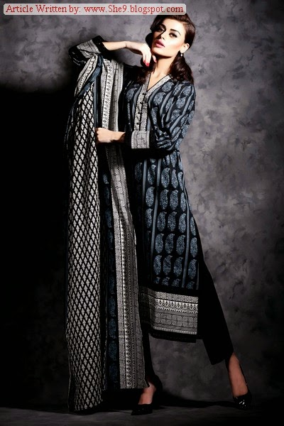 Khaadi Winter / Fall Cambric Collection 2014 Volume-2