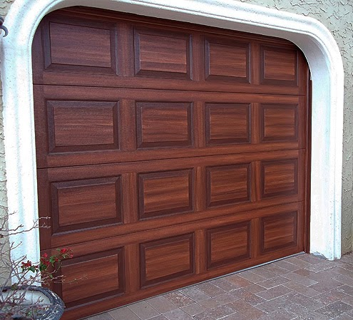 Paint that looks like wood stain images for Paint garage door to look like wood